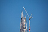 Topping out The Shard