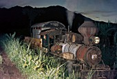 Adventures at Ma Ao Sugar central on the Philippine island of Negros with No.5 a former Bacolod & Murcia Alco 2-6-0 Mogul at work in November 1974.