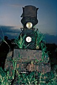 The amazing Insular Lumber Companys 4 cylinder compound 0-6-6-0 Baldwin Mallet No.7 abandoned on the Philippine island of Negros Thursday 17th December 1981.