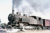 Turkish State Railways 2-6-2T 3559 built by Maffei in 1912. Picture dated August 1976.