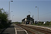 General view of Bodorgan station, Anglesey. 2007