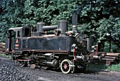 On Wednesday 16 August 1972, Colin Garratt photographed this 2-6-0T -ex Yugoslav Railways 153 Class -at a chemical factory which was rail connected to the Maribor -Bleiburg line.