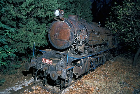 In August 1982 the steam locomotive dump at Tithorea in Greece contained former British War Departme