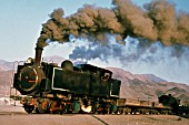 The Worlds last Kitson Meyer articulated working at Taltal in Chiles Atacama Desert. Built by Kitson of Leeds during the Edwardian may of there locomotives were used to bring gold and nitrates from the interior to ports on Chiles Atlantic coast.