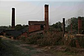 The abandoned Ledo Brickworks in March 2007.