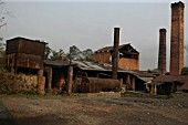 Ledo Brickworks Assam following closure. March 2007.