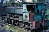 West Ayr No.11, an Andrew Barclay 0-4-0ST of 1919 awaits mechanical attention. She was caught against a carpet of dandelions at the Mauchline Coal Preparation Plant on Tuesday 16th May 1972.