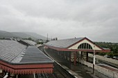 General view of Aviemore station. Scotland. 2007