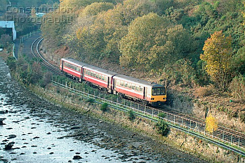 The Esk Valley line from Middlesbrough  Whitby normally uses one of the West Yorkshire Metroliveried