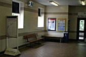 Interior of Acocks Green station, Birmingham. 2007