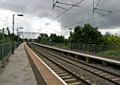 General view of platforms at Aston station, Birmingham. 2007