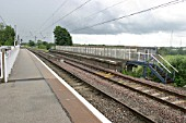 General view of the platforms at Lichfield Trent Valley station, Staffordshire. 2007