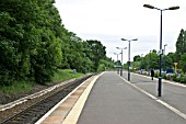 General platform view of Acocks Green station, Birmingham. 2007