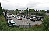 Car parking facility at Lichfield Trent Valley station, Staffordshire. 2007