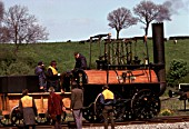 Working replica of Locomotion at Shilton. May 1975
