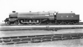 LMS Turbomotive 4-6-2 locomotive No.6202 as originally built. June 1935