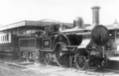 LNWR, Ramsbottom Problem Class 2-2-2 NO. 1429, Alfred Paget. C1857