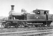 A Whitelegg 4-4-2T, Southend from the London Tilbury and Southend Railway. C1900