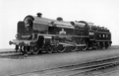 LMS Patriot Class 4-6-0 No.5505 Royal Army Ordinance Corps. September 1947