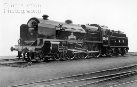 LMS Patriot Class 460 No5505 Royal Army Ordinance Corps September 1947