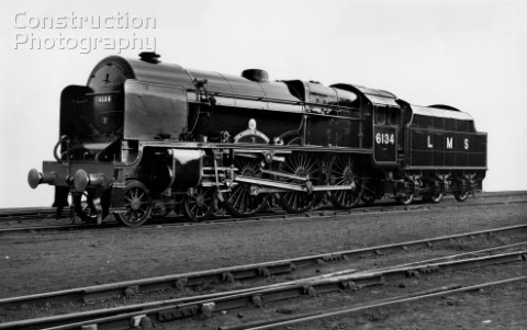 LMS Royal Scot Class 460 No6134 The Cheshire Regiment July 1947
