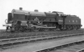 LMS Patriot Class 4-6-0 No.5504 Royal Signals. December 1947