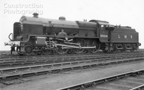 LMS Patriot Class 460 No5504 Royal Signals December 1947