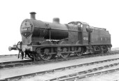 LMS Fowler Class 4F 0-6-0 No.4562 with Stanier chimney to improve steaming with poor coal. Built 1937