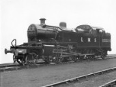 LMS Fowler 2-6-2T type 3P No.15524, fitted with condensing apparatus. C1930
