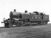 LMS Fowler 2-6-4T No.2313, The Prince type 4P. C1928