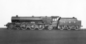 LMS Princess Royal Class 4-6-2 Pacific locomotive No.6205 Princess Victoria designed by Stanier. C1938