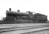 Ex LNWR Prince of Wales Class 4-6-0 No2340, Prince of Wales with Walshaerts- Beames valve gear. C1920