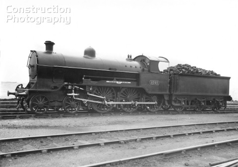 Ex LNWR Prince of Wales Class 460 No2340 Prince of Wales with Walshaerts Beames valve gear C1920